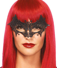 Vampire Bat Lace Mask