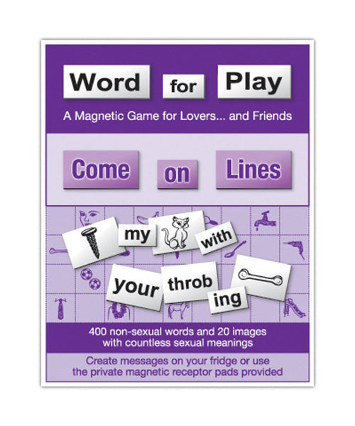 Word for Play: Come on Lines