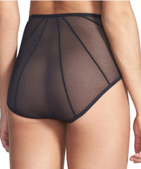 Whisper Sweet Nothing Cage-Back Brief - Black