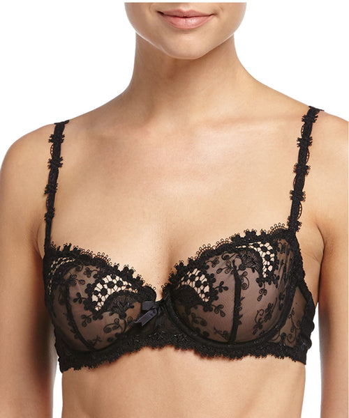 Wish Underwire Demi Cup - Black