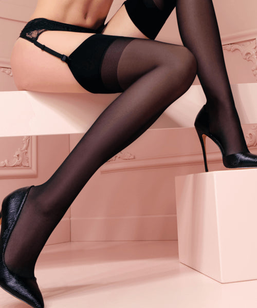 Sara Stocking 20 Denier - Black