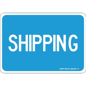 SHIPPING (WHITE/BLUE)