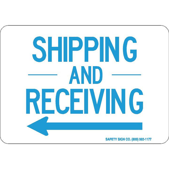 SHIPPING-AND-RECEIVING (LEFT ARROW)(BLUE/WHITE)