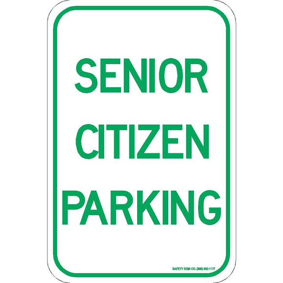SENIOR CITIZEN PARKING SIGN