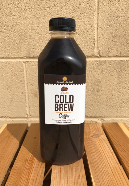 Organic Cold Brew Concentrate - (32oz)