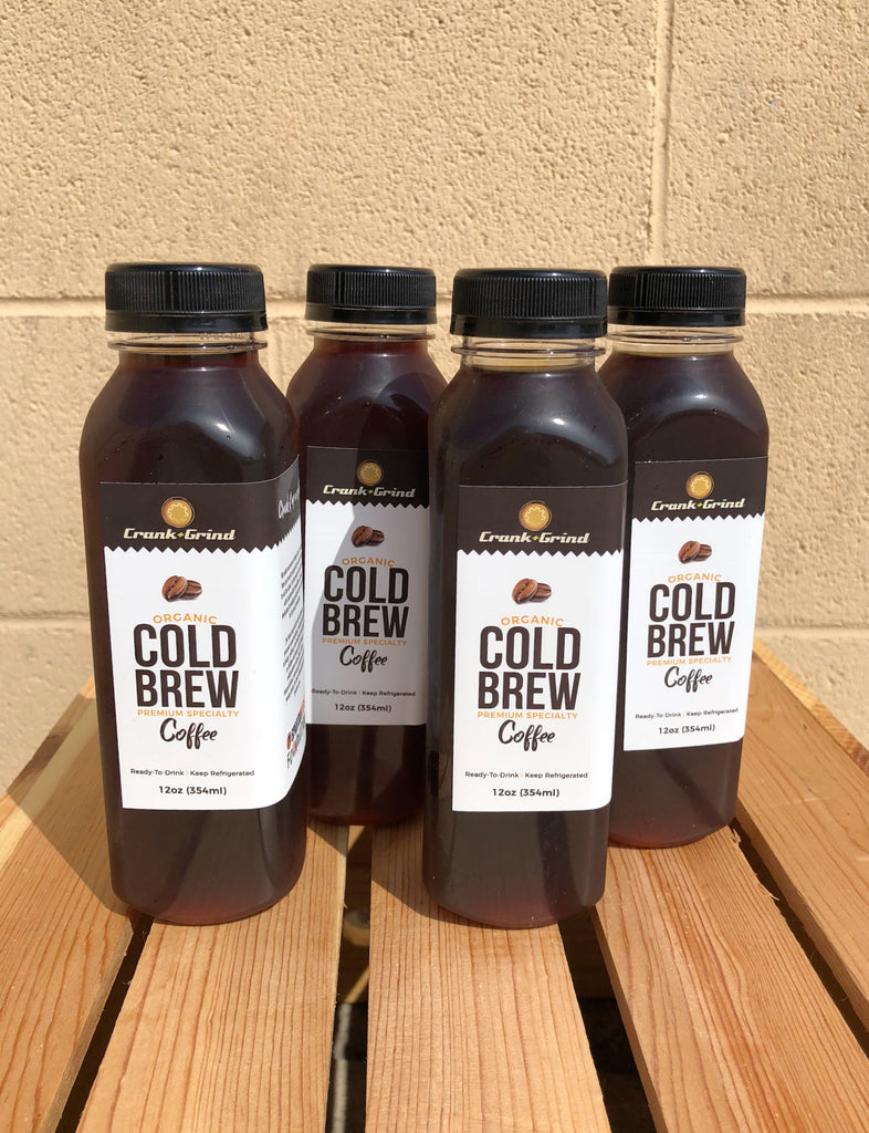 Organic Cold Brew - 4 pack (12oz)