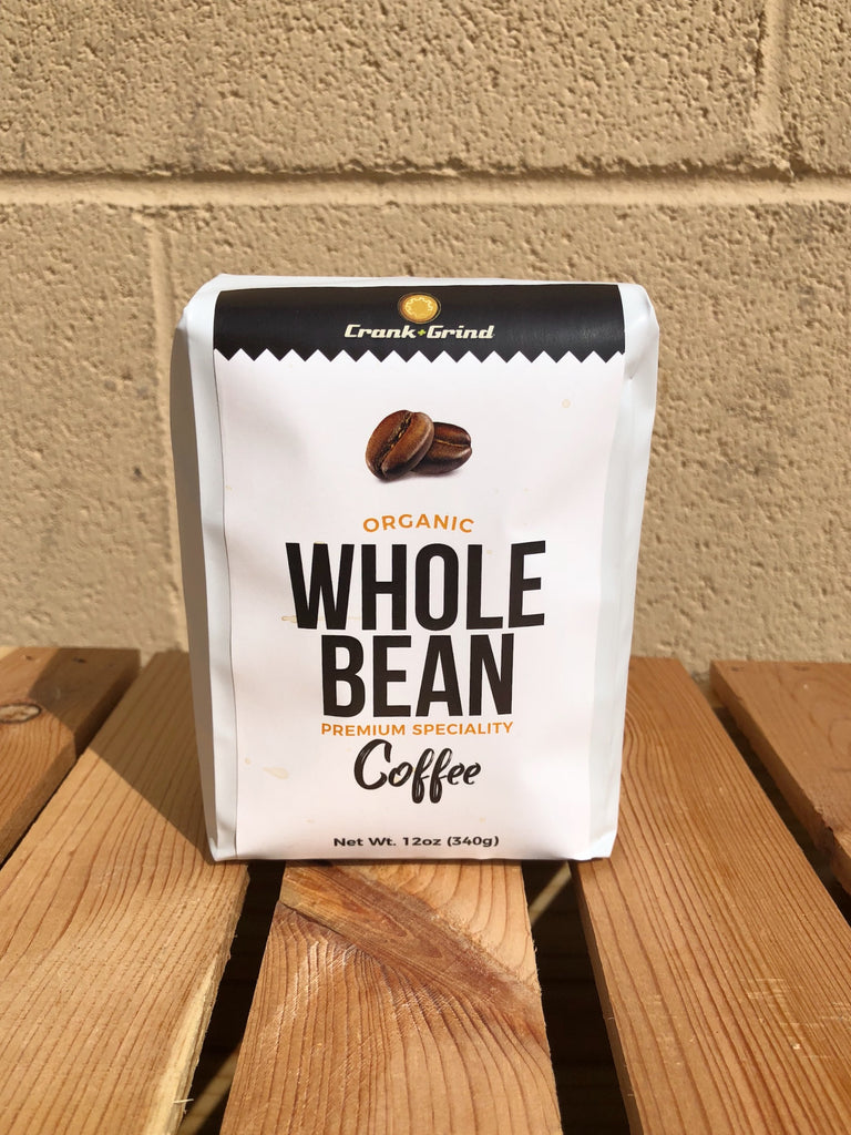 Organic Whole Bean Coffee - 12oz (340g)
