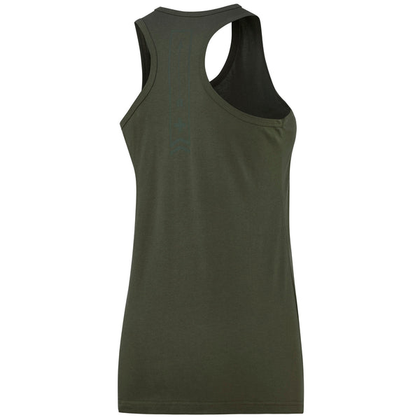 Damski Tank Top Arrow Army Green