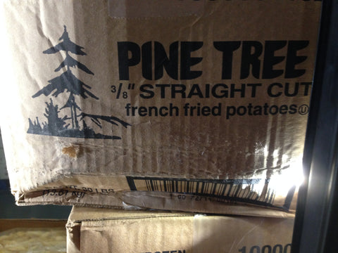 Pine Tree 3/8 Straight cut French Fries