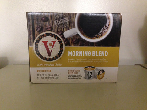 September Special! Closeout Sale! Victor Allen's Coffee K-cups All Flavors