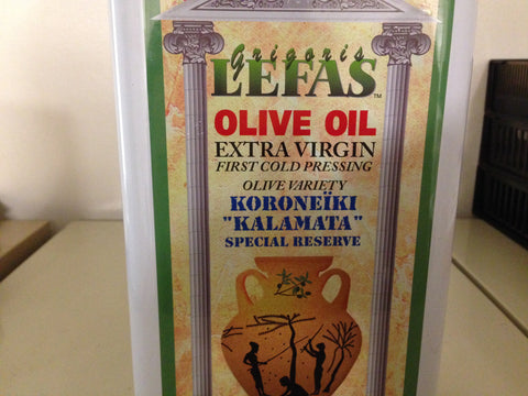 November Special! Lefas Extra Virgin Olive Oil Product of Greece