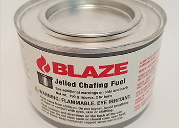 Blaze Chafing Fuel, Jelled or Wick