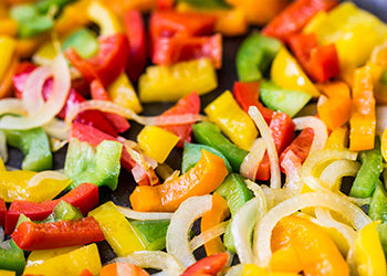 Fajita Mix - Colored Pepper Strips & Onions