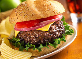 September Special! Angus Hamburg Patties 8 oz. Frozen