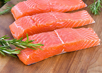 Wild Caught Keta 6 oz. Salmon Fillets