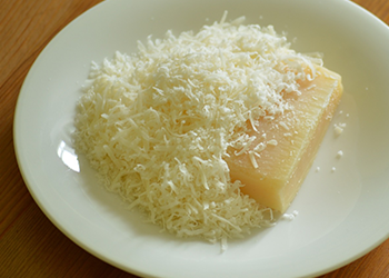 February Special! Grated Imported Parmesan or Pecorino Romano Cheese