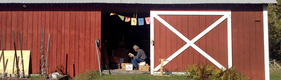 The Original Red Barn Collections Old Vintage Book Journals and notebooks  dad the bookhunter looking at discarded books he found
