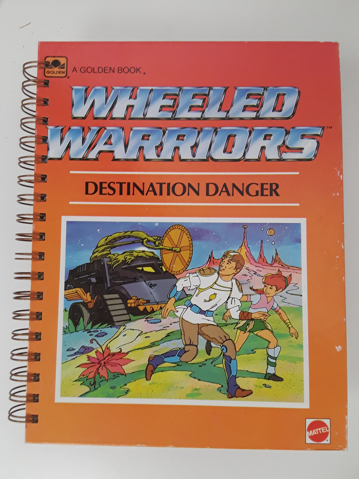 Wheeled Warriors Destination Danger-Red Barn Collections