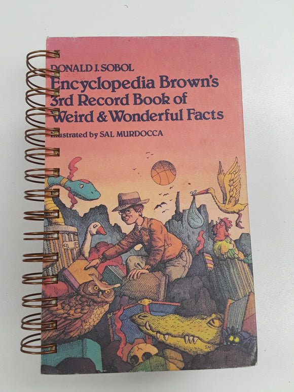 Encyclopedia Brown's 3rd Record Book of Weird & Wonderful Facts-Red Barn Collections