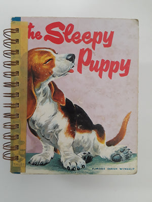 The Sleepy Puppy-Red Barn Collections