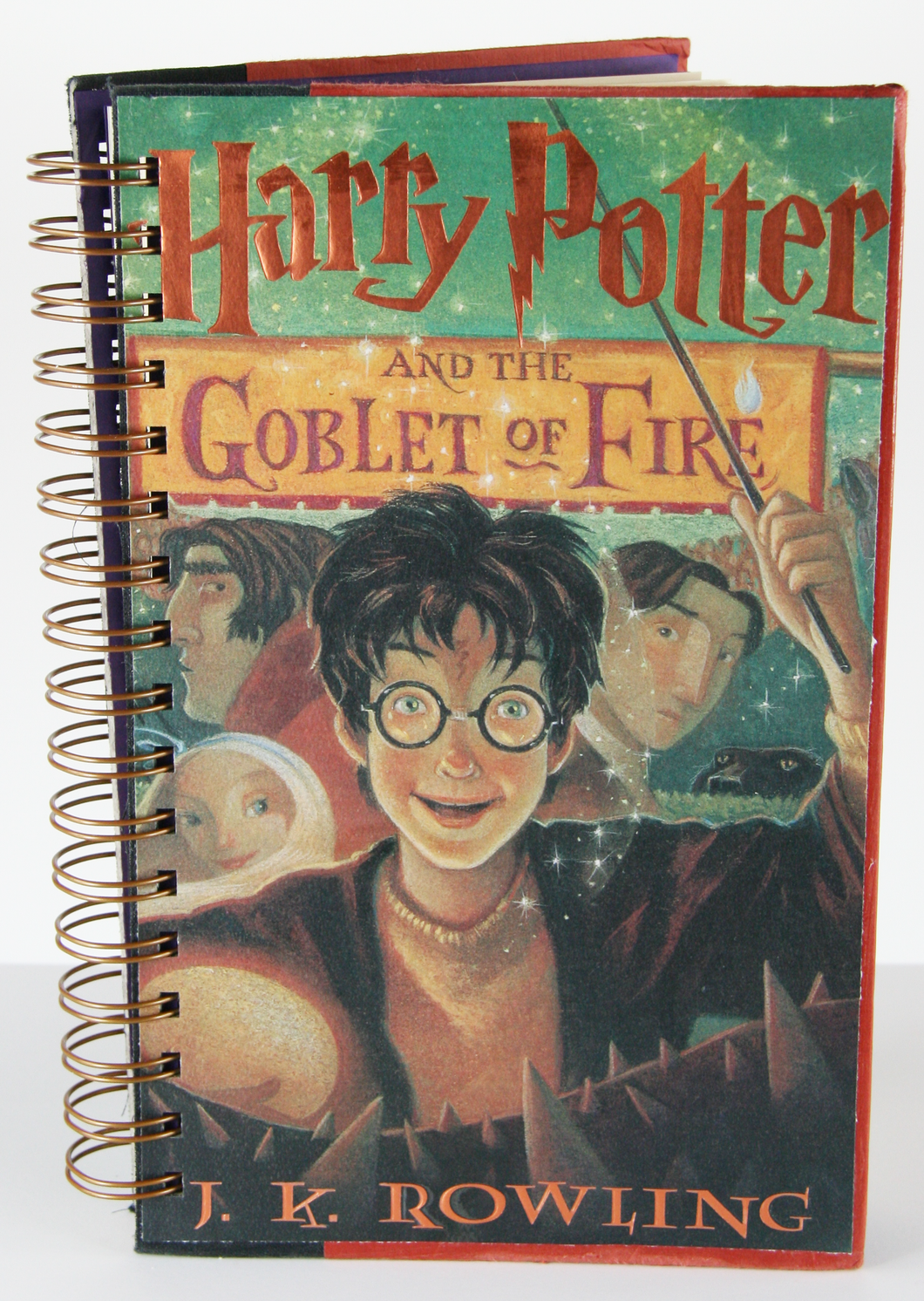 Harry Potter and the Goblet of Fire Upcycled Book Journal