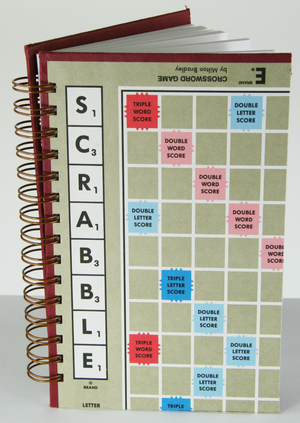 Scrabble Notebook-Red Barn Collections