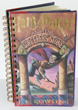 Harry Potter and the Sorcerers Stone Upcycled Book Journal
