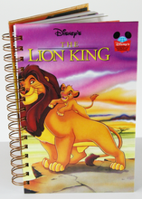The Lion King Upcycled Book Journal
