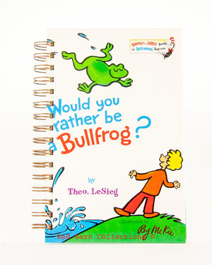 Would you rather be a Bullfrog?-Red Barn Collections