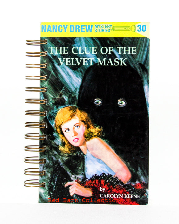 Nancy Drew #30 - The Clue of the Velvet Mask-Red Barn Collections