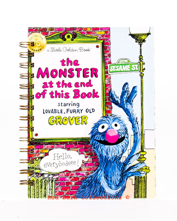 The Monster at the end of this Book - Large Little Golden Book-Red Barn Collections
