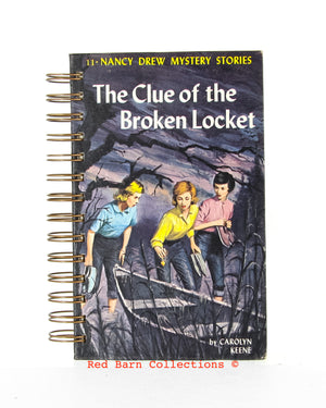 Nancy Drew #11 - The Clue of the Broken Locket-Red Barn Collections