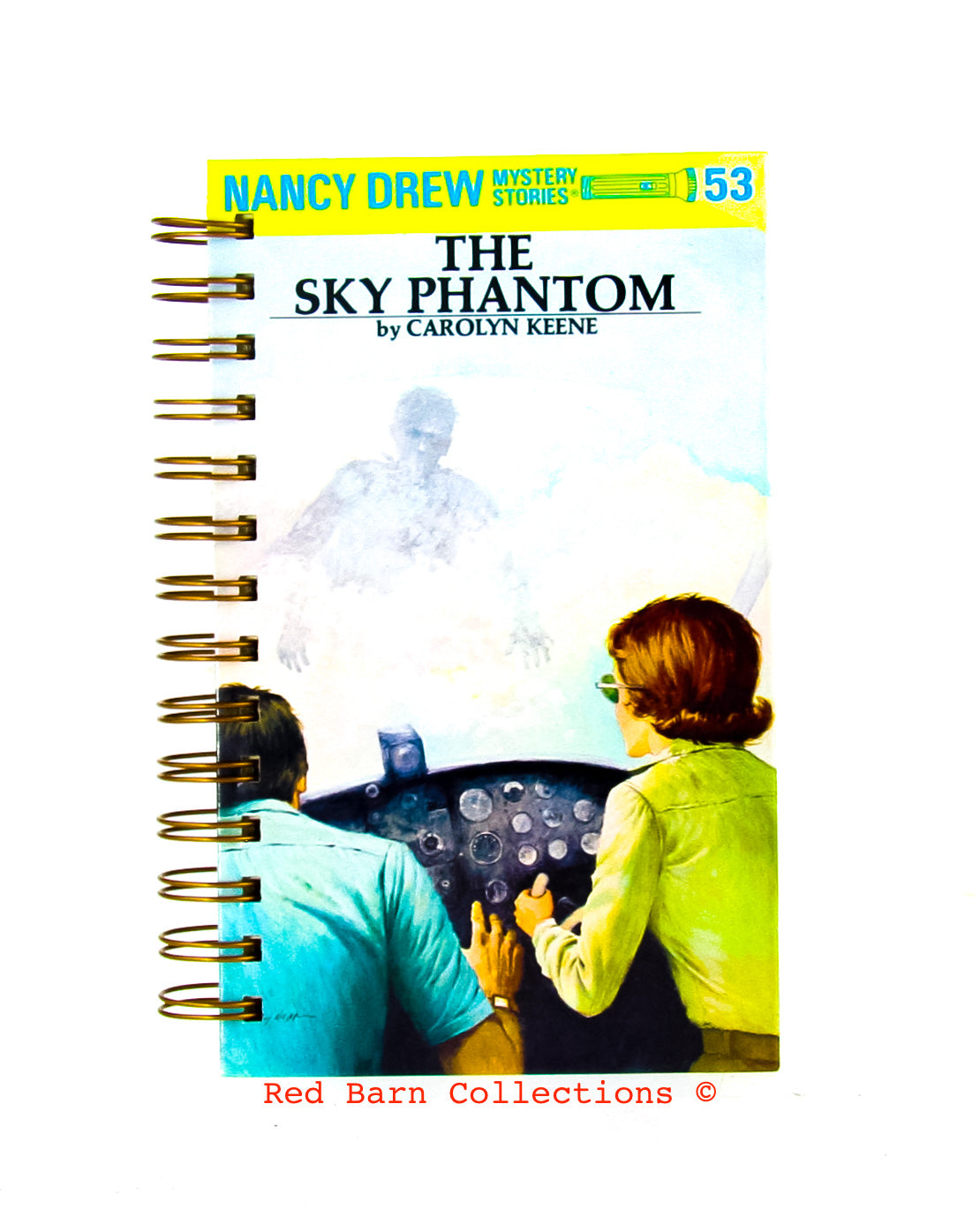 Nancy Drew #53 - The Sky Phantom-Red Barn Collections