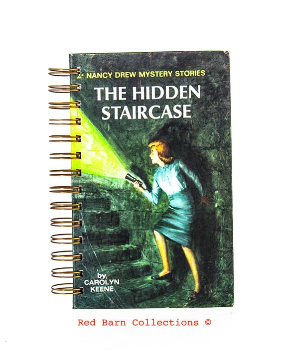 Nancy Drew #02 - The Hidden Staircase-Red Barn Collections