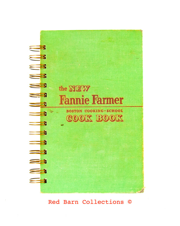 Fannie Farmer Cook Book-Red Barn Collections