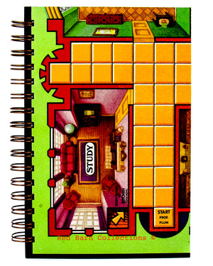 Clue Game-board Journal-Red Barn Collections