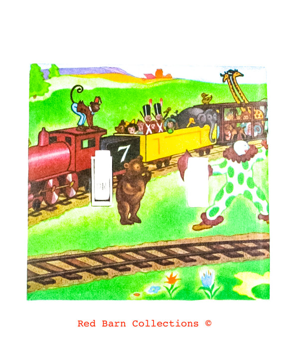 The Little Engine That Could Light Switch Cover-Red Barn Collections
