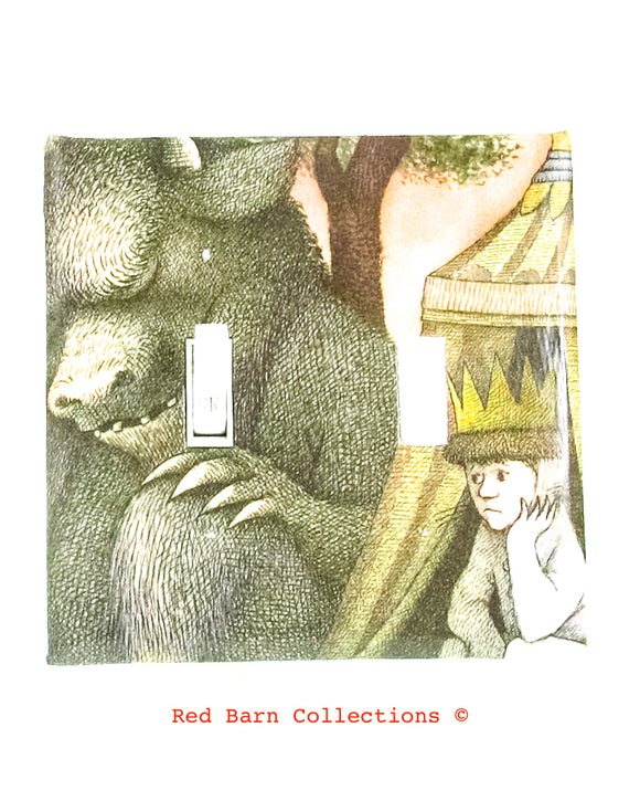 Where The Wild Things Are Light Switch Cover-Red Barn Collections