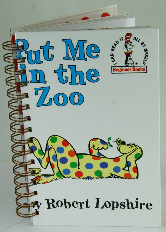 Put Me in the Zoo Book Journal