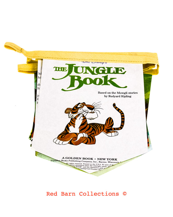 The Jungle Book Banner-Red Barn Collections
