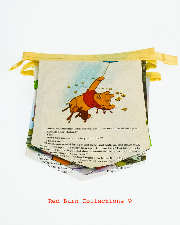 Winnie The Pooh Book Banner-Red Barn Collections