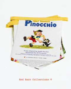 Pinocchio Book Banner-Red Barn Collections