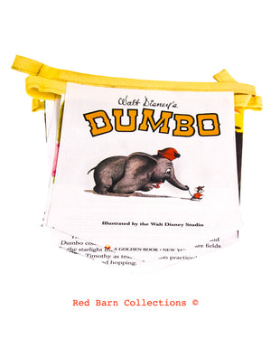 Dumbo Book Banner-Red Barn Collections