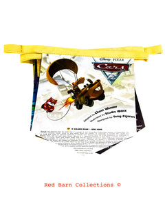 Cars 2 Book Banner-Red Barn Collections
