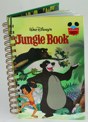 The Jungle Book Upcycled Book Journal