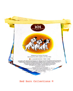 101 Dalmatians Book Banner-Red Barn Collections