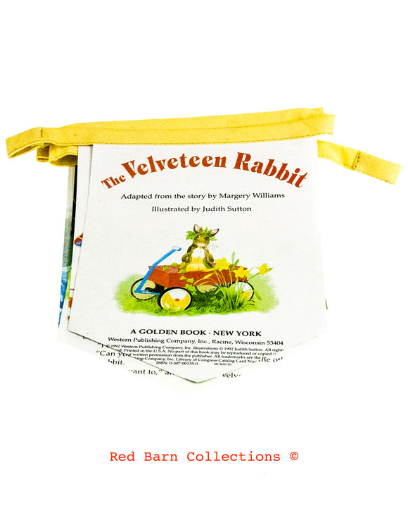 The Velveteen Rabbit Book Banner-Red Barn Collections