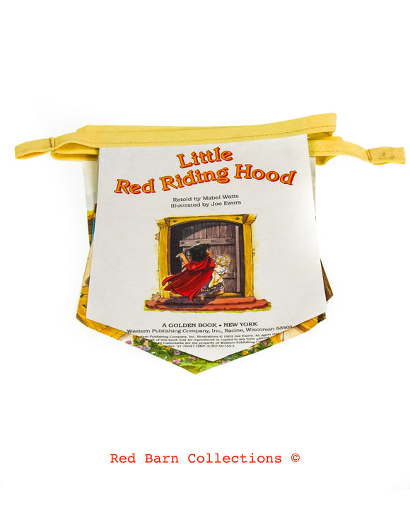 Little Red Riding Hood Book Banner-Red Barn Collections