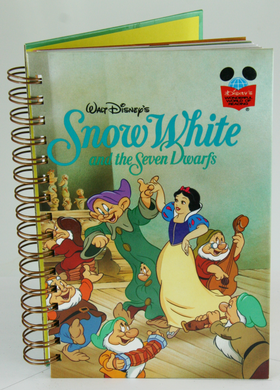 Snow White Upcycled Book Journal