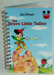 The Brave Little Tailor Upcycled Book Journal